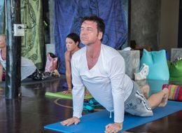 'The Retreat': Nick Knowles Swaps His Hard Hat For A Yoga Mat And Veganism In New BBC Show