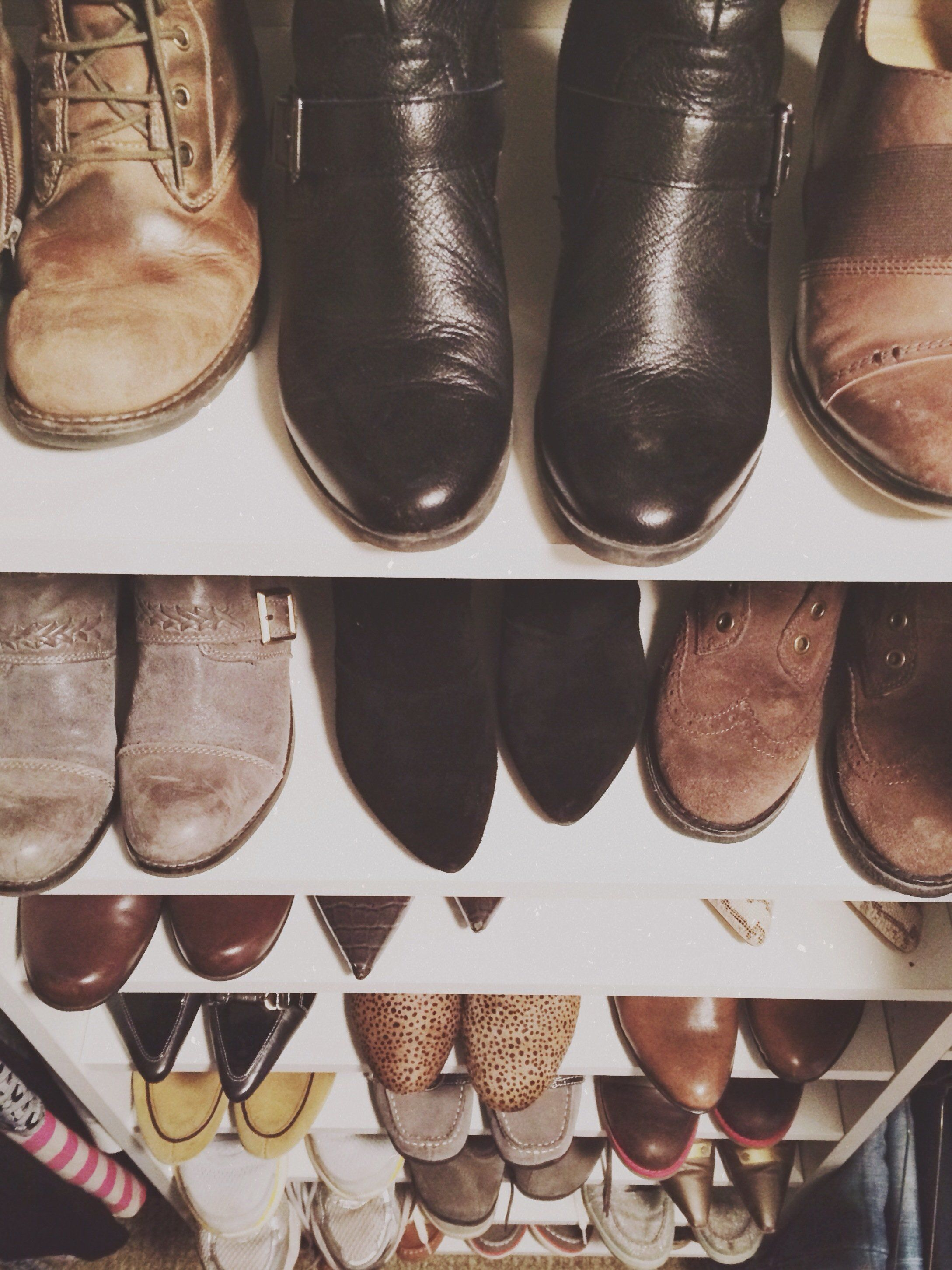 Closet Full of Shoes