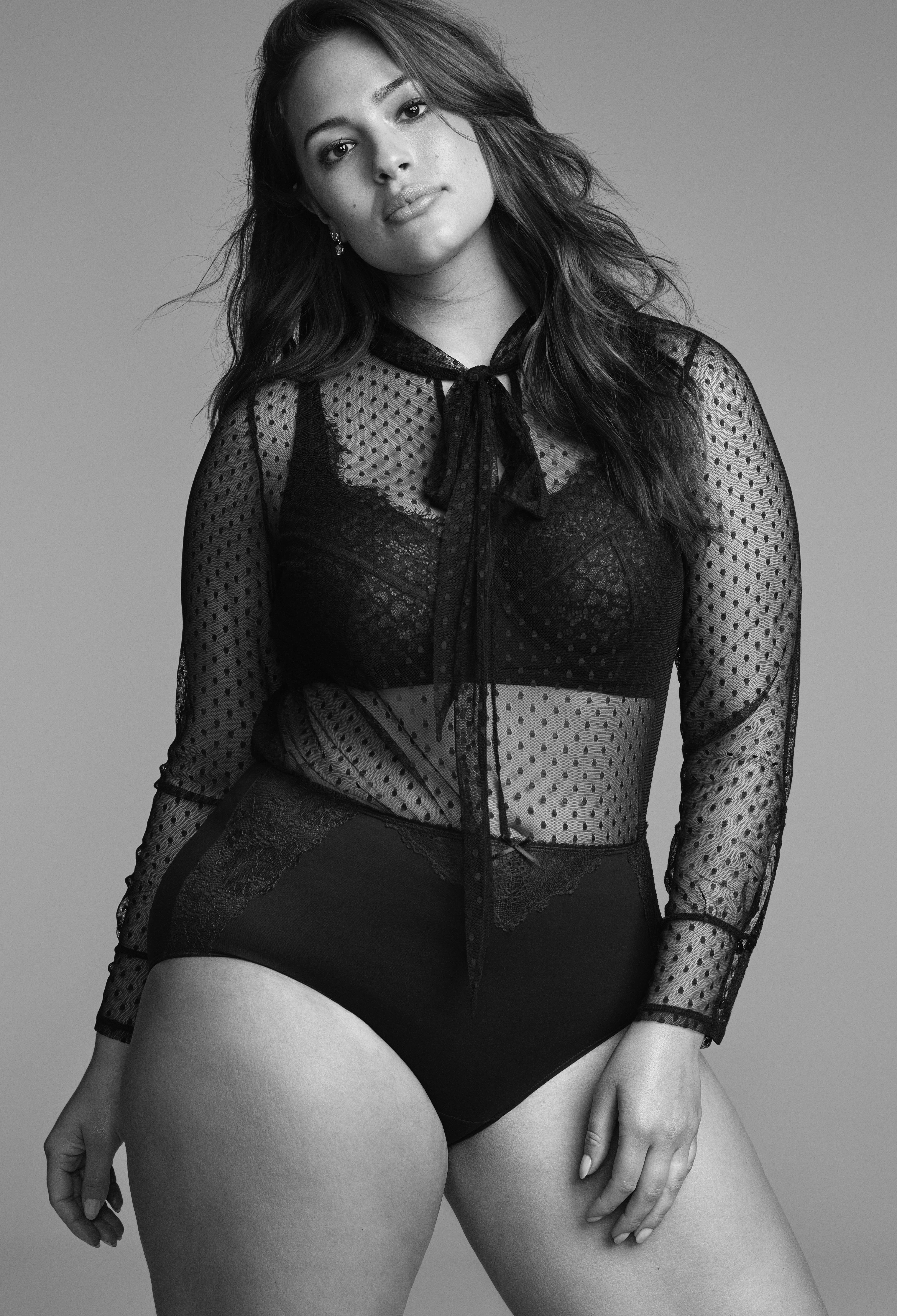 Lane bryant model ashley graham