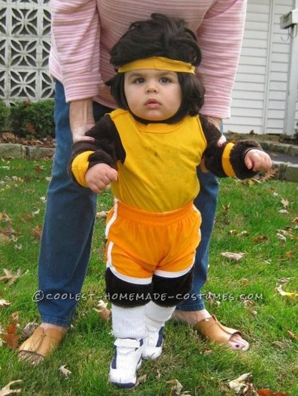 "Via <a href=""http://ideas.coolest-homemade-costumes.com/2014/09/28/adorable-baby-teen-wolf-costume/"" target=""_blank"">Coolest"