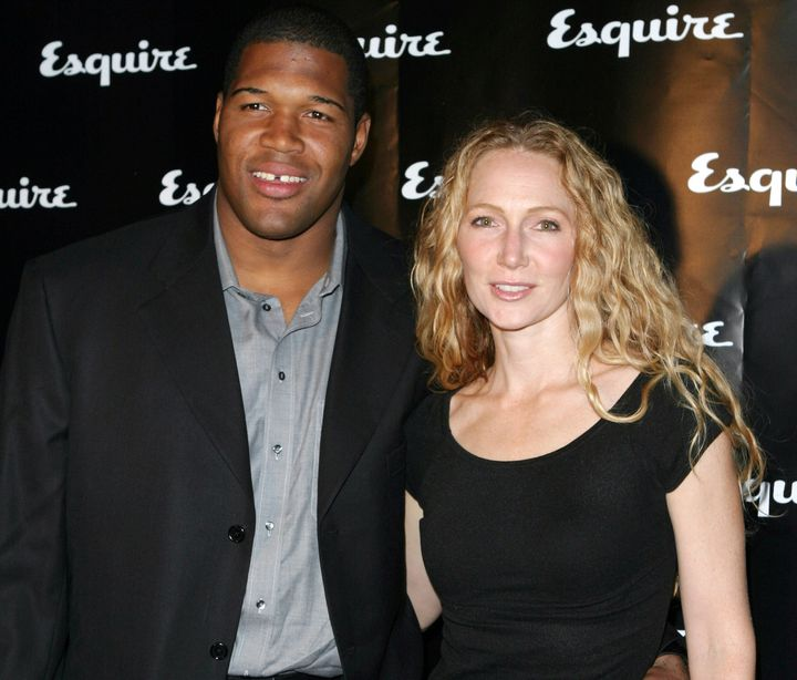 Michael Strahan and his second ex-wife Jean Muggli.