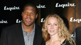 Michael Strahan and wife Jean (Photo by James Devaney/WireImage for Esquire Magazine - USA)