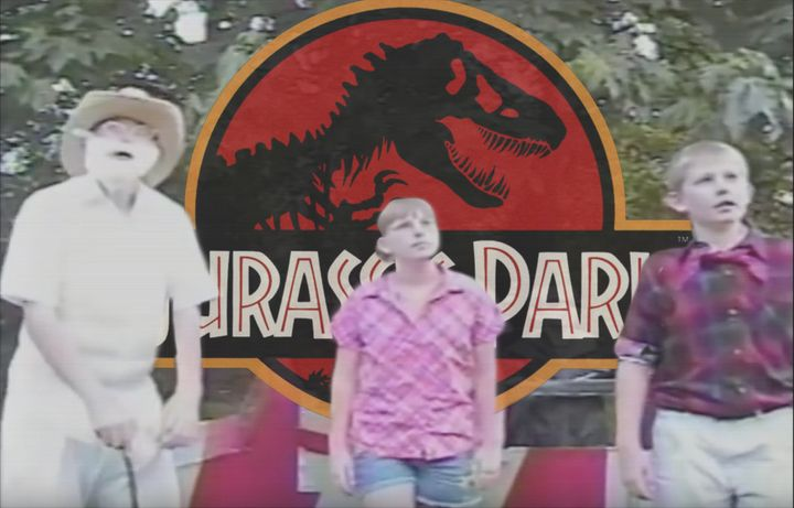 Dinosaurs run amok in a trending 2002 remake of the 1993 box-office smash Jurassic Park.