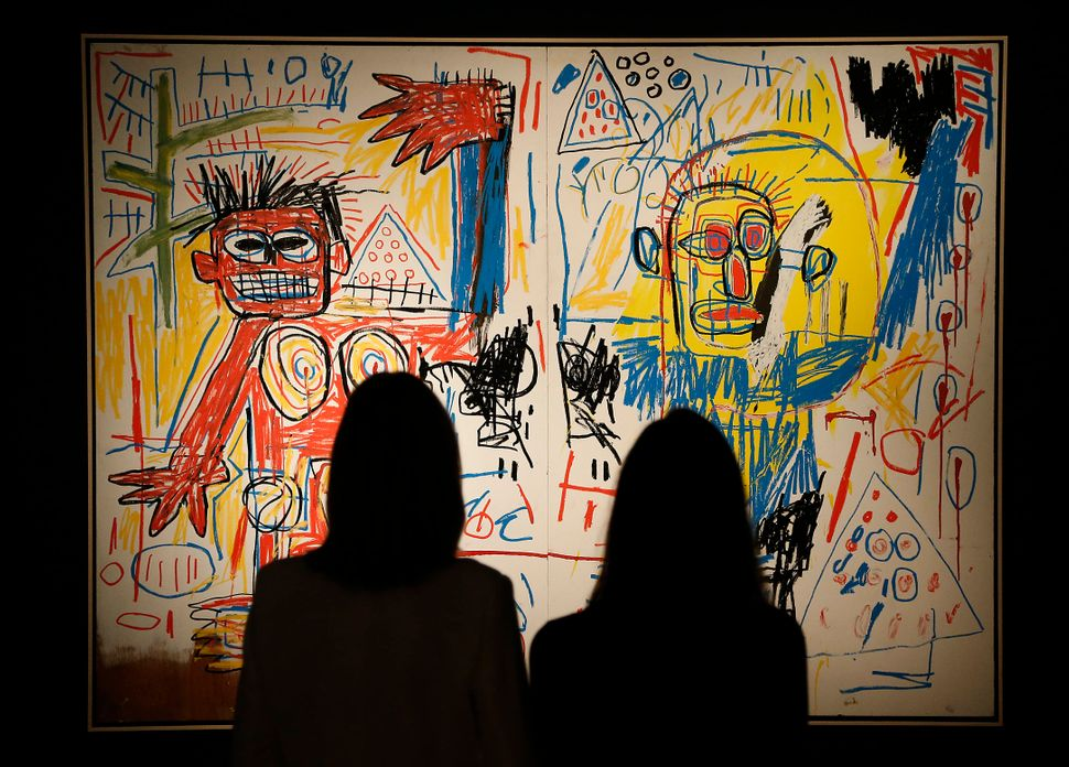 Jones curated an exhibition of Basquiat's work at the Brooklyn Museum that drew 40,000 visitors the final weekend alone.&nbsp