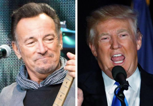 The Boss v. The Donald.