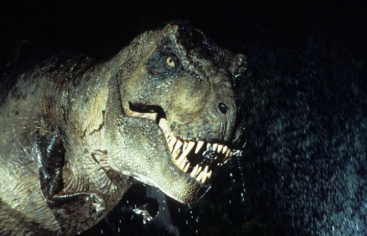The blockbuster 1993 movie Jurassic Park is set in a theme park inhabited by genetically engineered dinosaurs. They eventuall