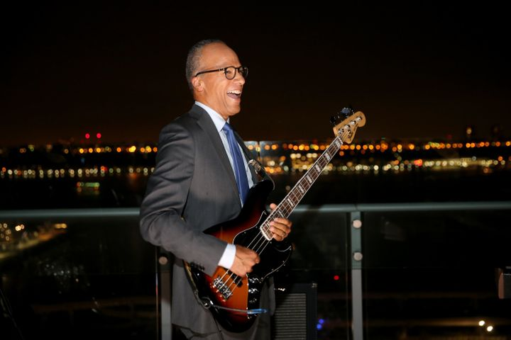 Lester Holt's musical skills drew cheers fromcolleagues on Tuesday, but he faces a tougher audience when he moderates&n
