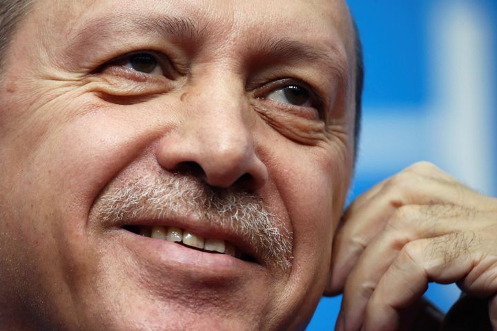 President Recep Tayyip Erdogand apparently felt no need to answerthe criticism over mistreatment of a noted Turkish rep
