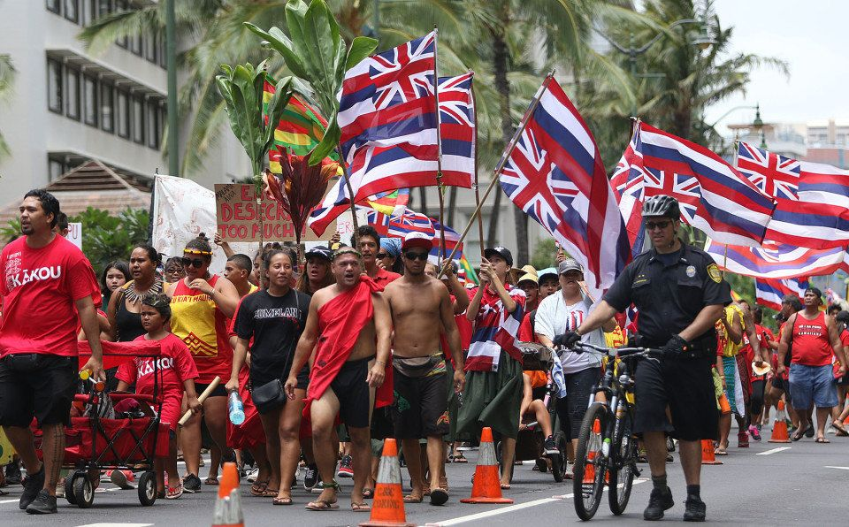 "Thousands of <a href=""http://www.civilbeat.org/2015/08/thousands-turn-out-for-aloha-aina-unity-march/"" target=""_blank"">Aloha"