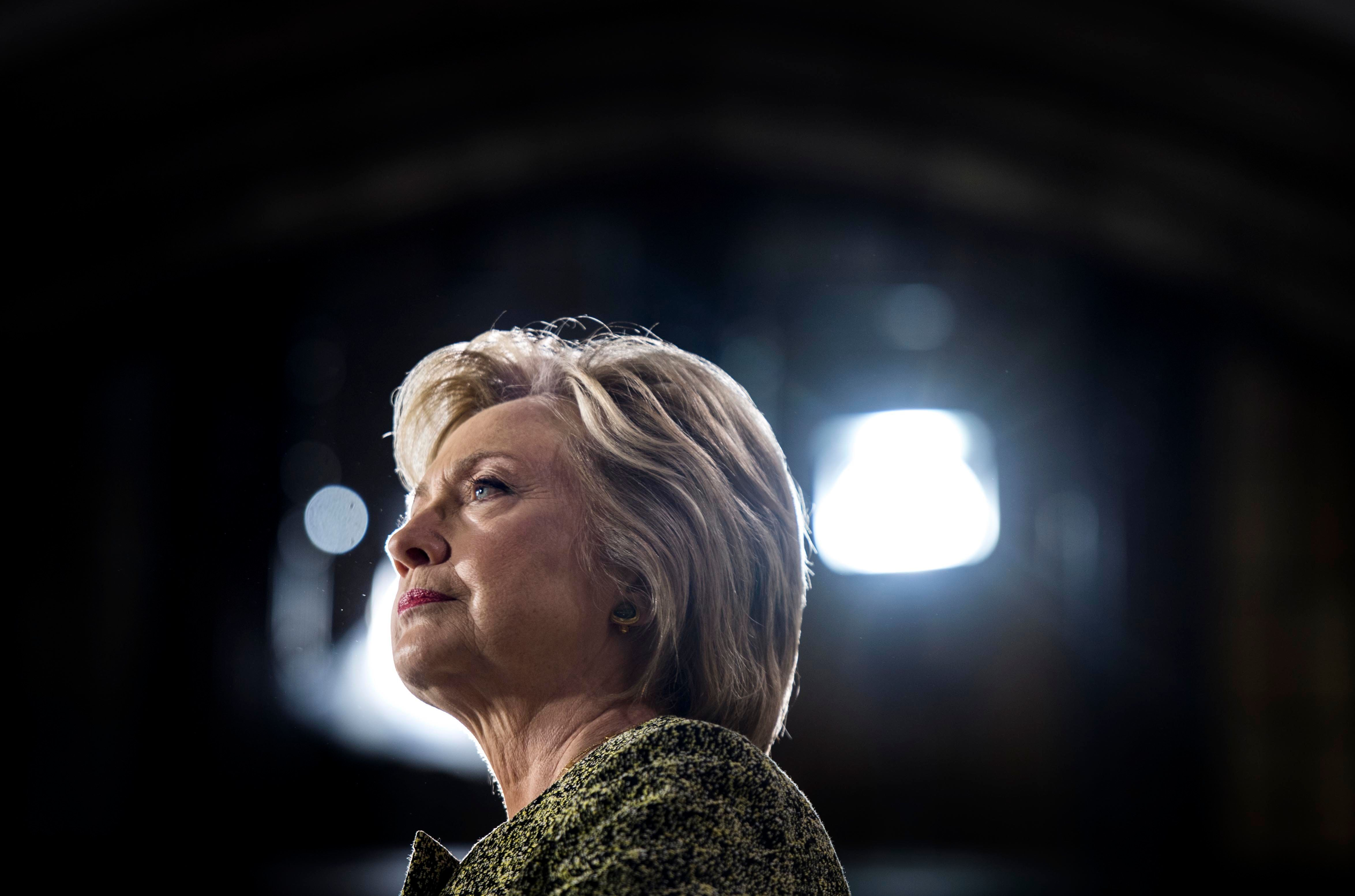 PHILADELPHIA, PA - Democratic Nominee for President of the United States former Secretary of State Hillary Clinton speaks to and meets Pennsylvania voters at Temple University in Philadelphia, Pennsylvania on Monday September 19, 2016. (Photo by Melina Mara/The Washington Post via Getty Images)