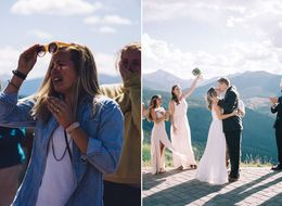 Guy Surprises Girlfriend With Proposal And Wedding On The Same Day