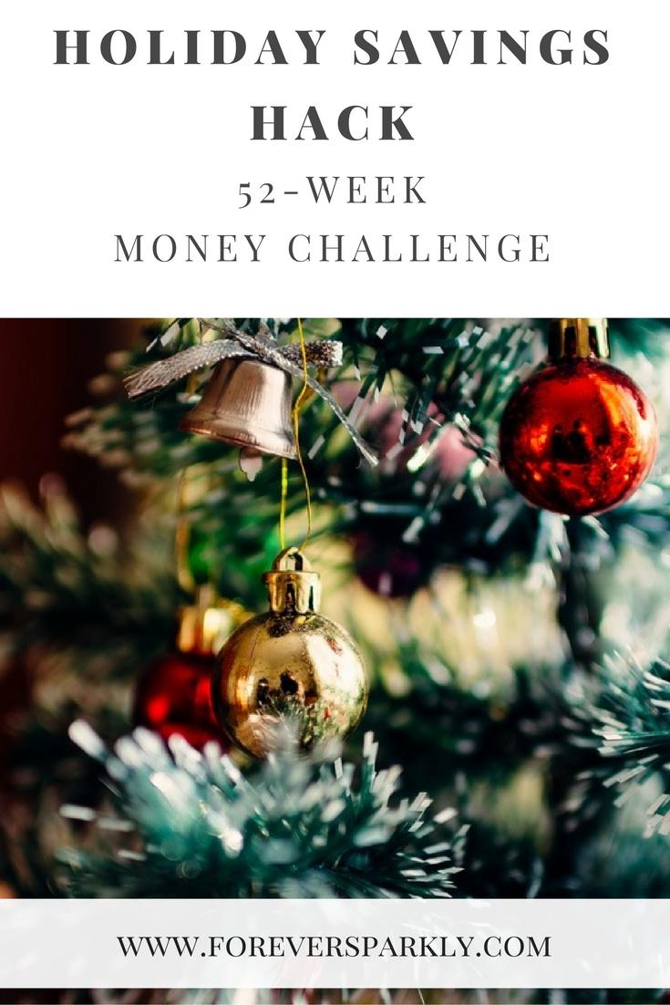 Holiday Savings Hack: 52-Week Money Challenge