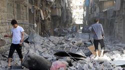 Fighting In Aleppo Escalates As Bombings Leave Residents Without