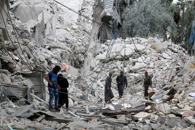 The Syrian Observatory for Human Rights says it has documented 72 deaths since Friday, including five...