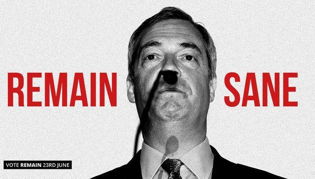 Nigel Farage Brexit Poster Deemed 'Too Personal' By David Cameron Before