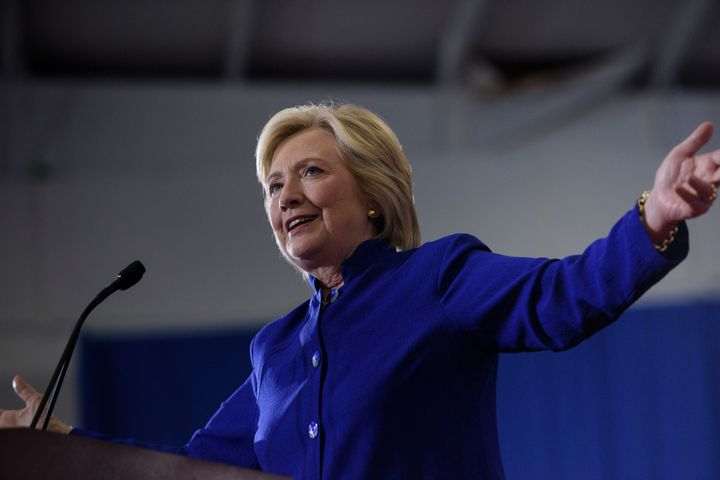 Hillary Clinton campaigned in Orlando, Florida on September 21, 2016.