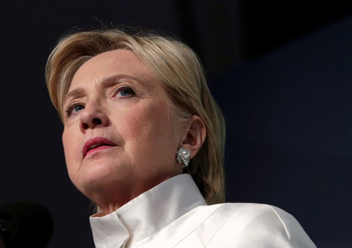Democratic nominee Hillary Clinton speaks at the Congressional Black Caucus Foundation's Phoenix Awards Dinner in Washington,