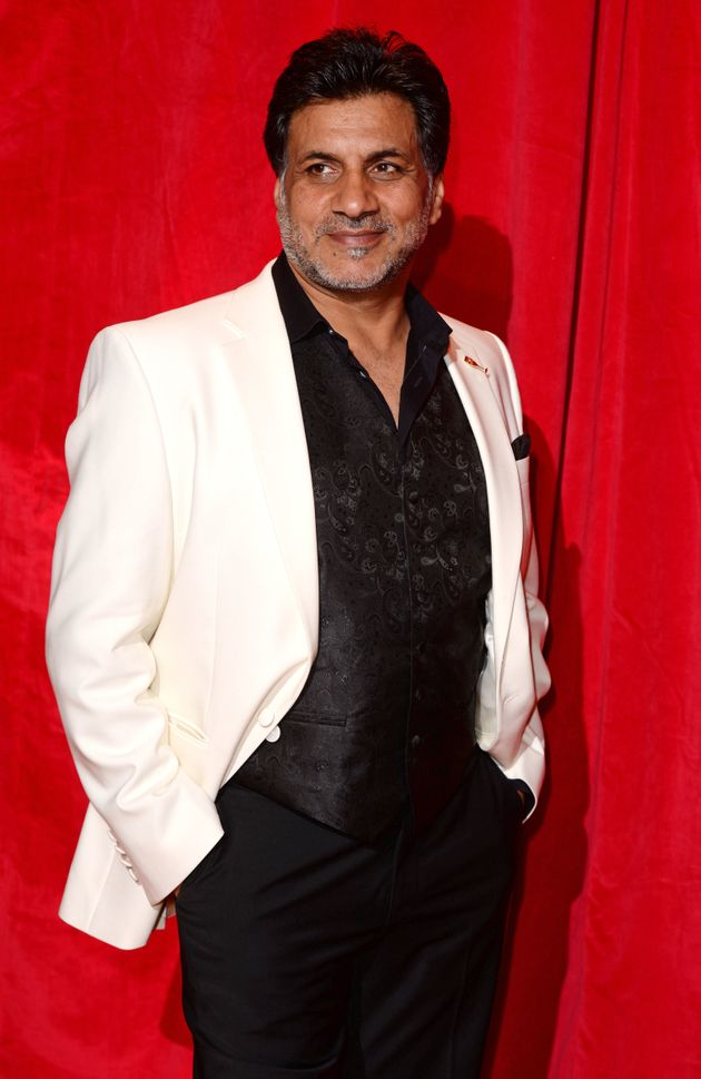 Marc at the British Soap Awards in