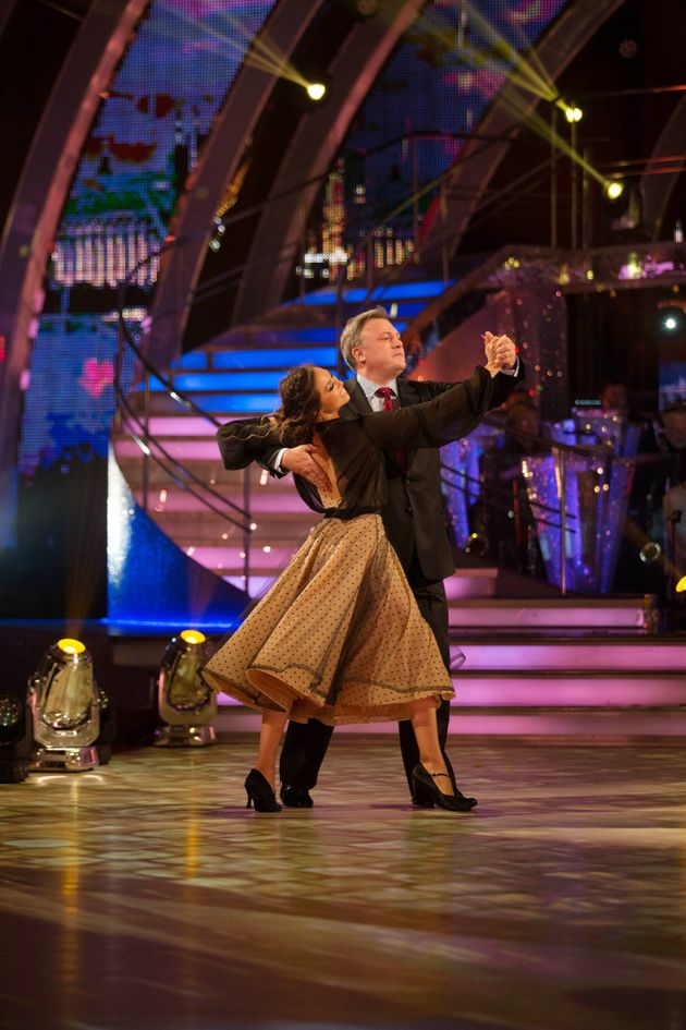 Ed Balls hits the 'Strictly' dance