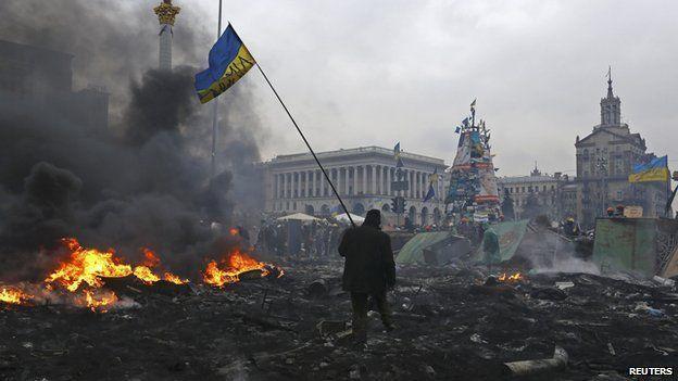 A war-torn Eastern Ukraine