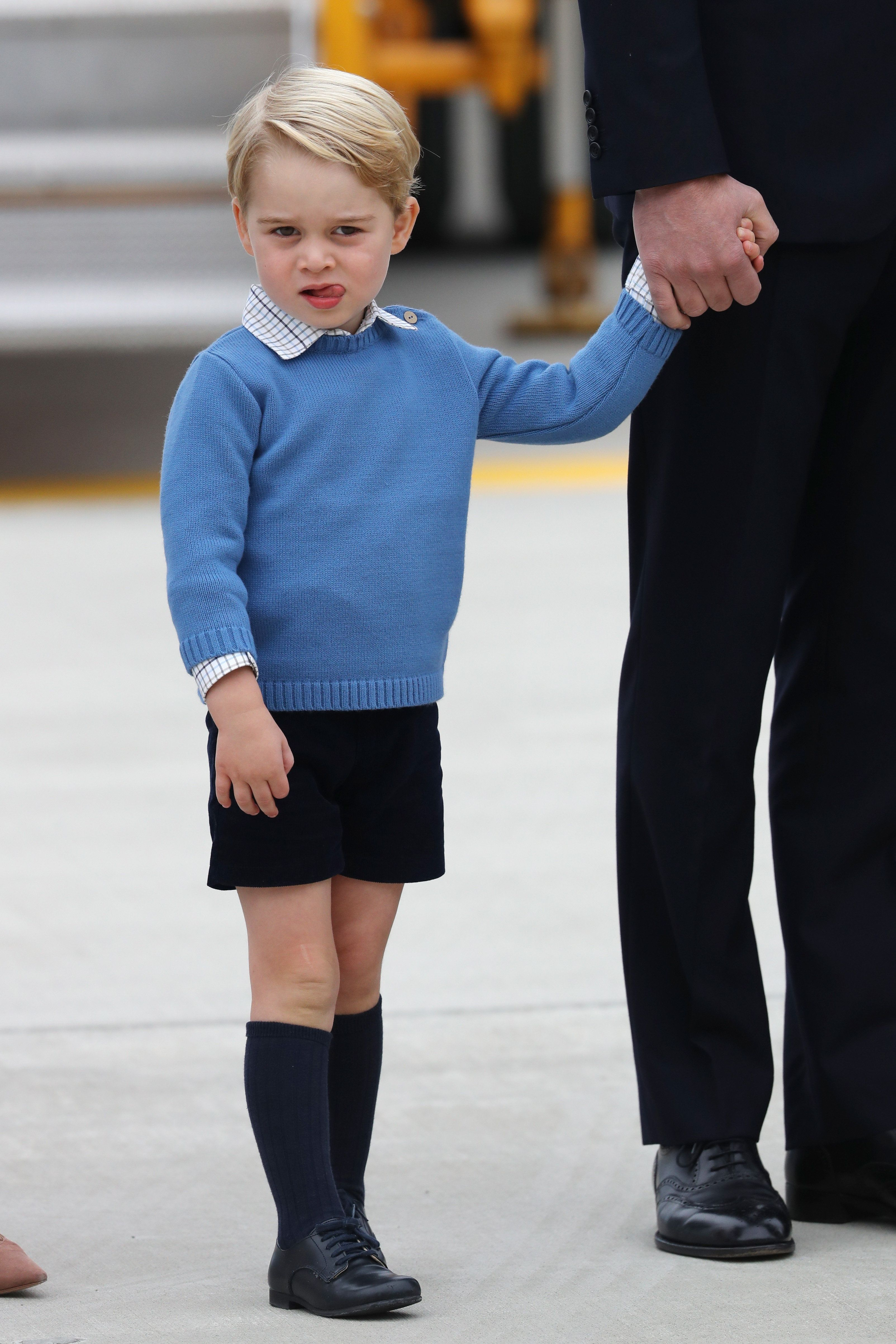 Prince George Just Shunned The World's Coolest