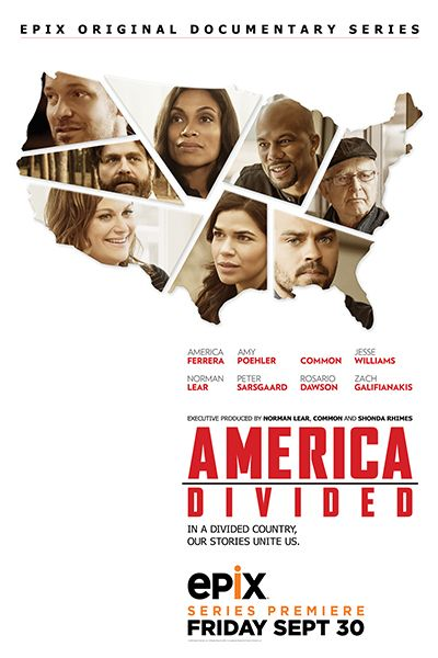 America Divided premiering on Epix on Sep. 30, 2016