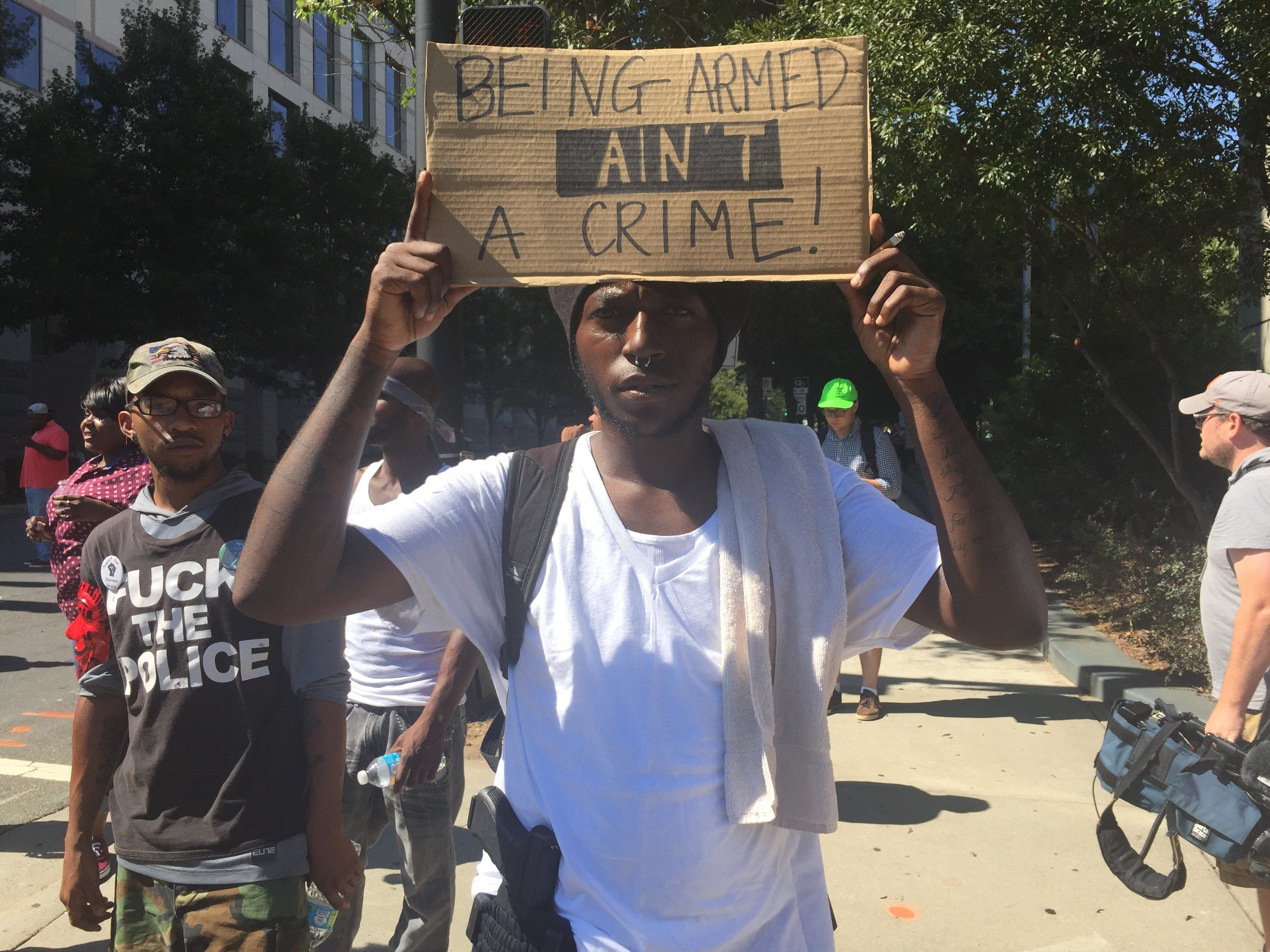 Dhoruba Shakur wants everyone to understand that the current situation in Charlotte isn't unique.