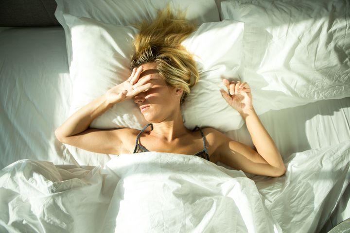Not pictured: Restful slumber.