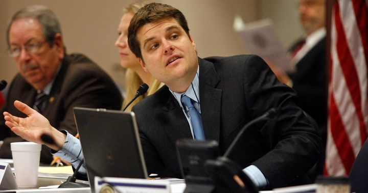 Matt Gaetz, a Republican member of the Florida House of Representatives and a candidate for U.S. Congress, is under fire for