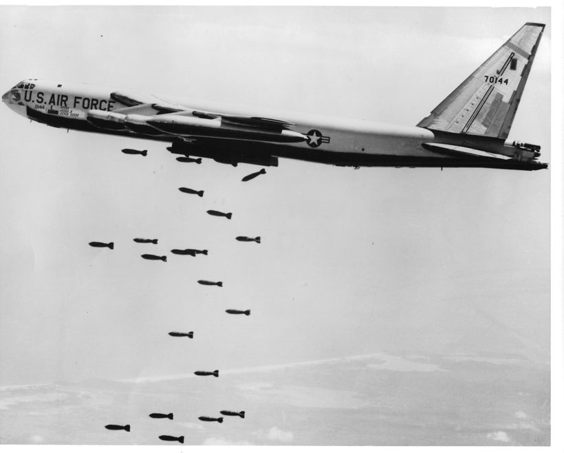 on feb 11 1965 dozens of american b 52s gathered at anderson - Christmas Bombings