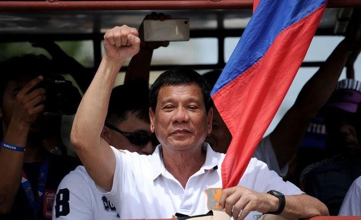 With a strong social media following, Rodrigo Duterte became the Philippines 16th President