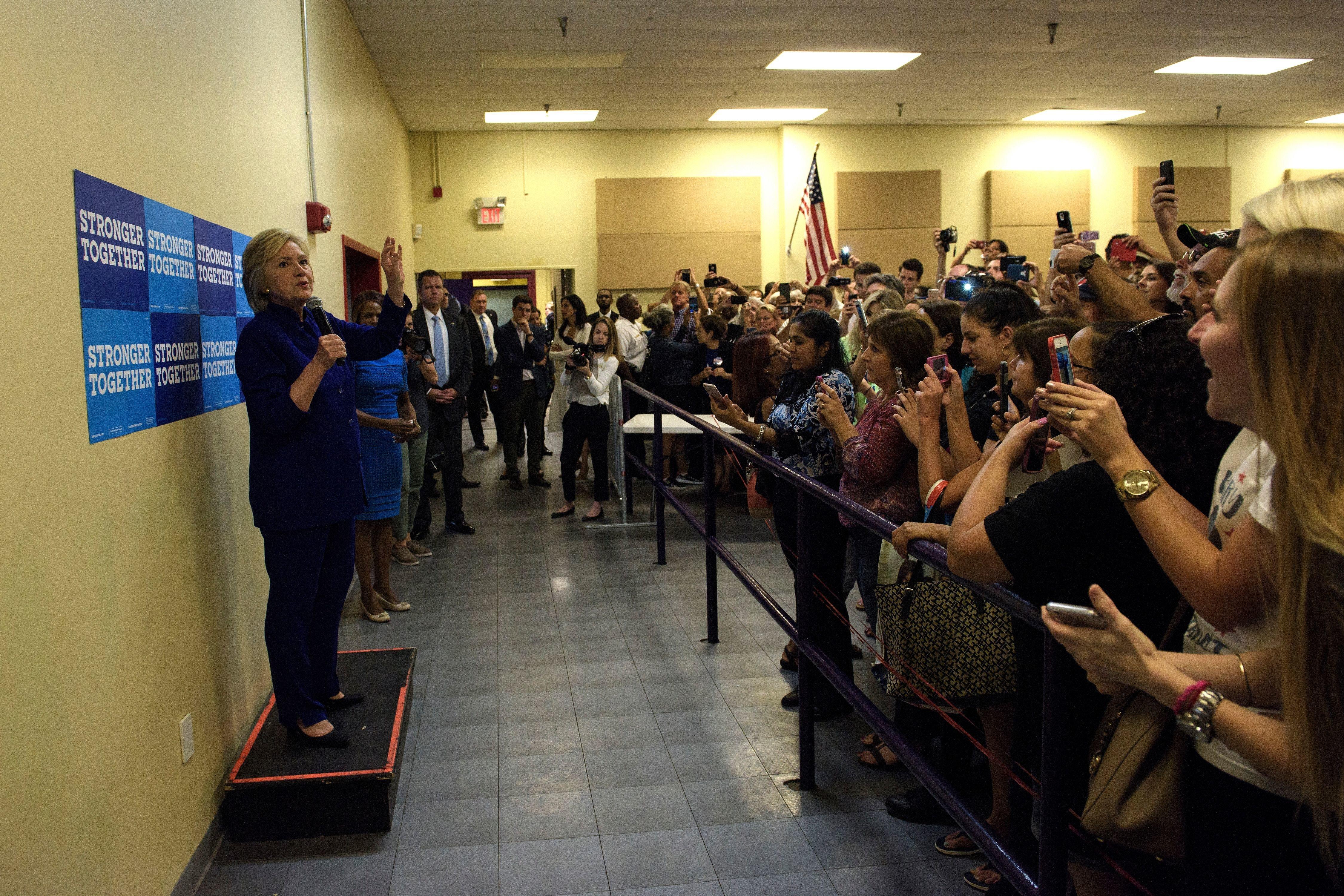 One Bizarre Campaign Photo Captures 2016