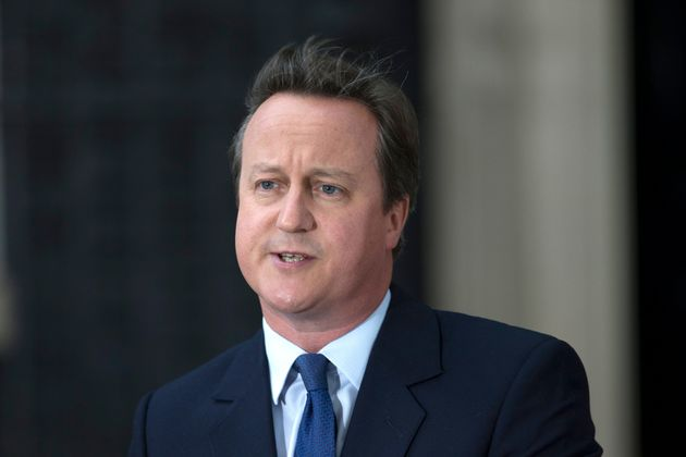 David Cameron was accused of branding May and Hammond