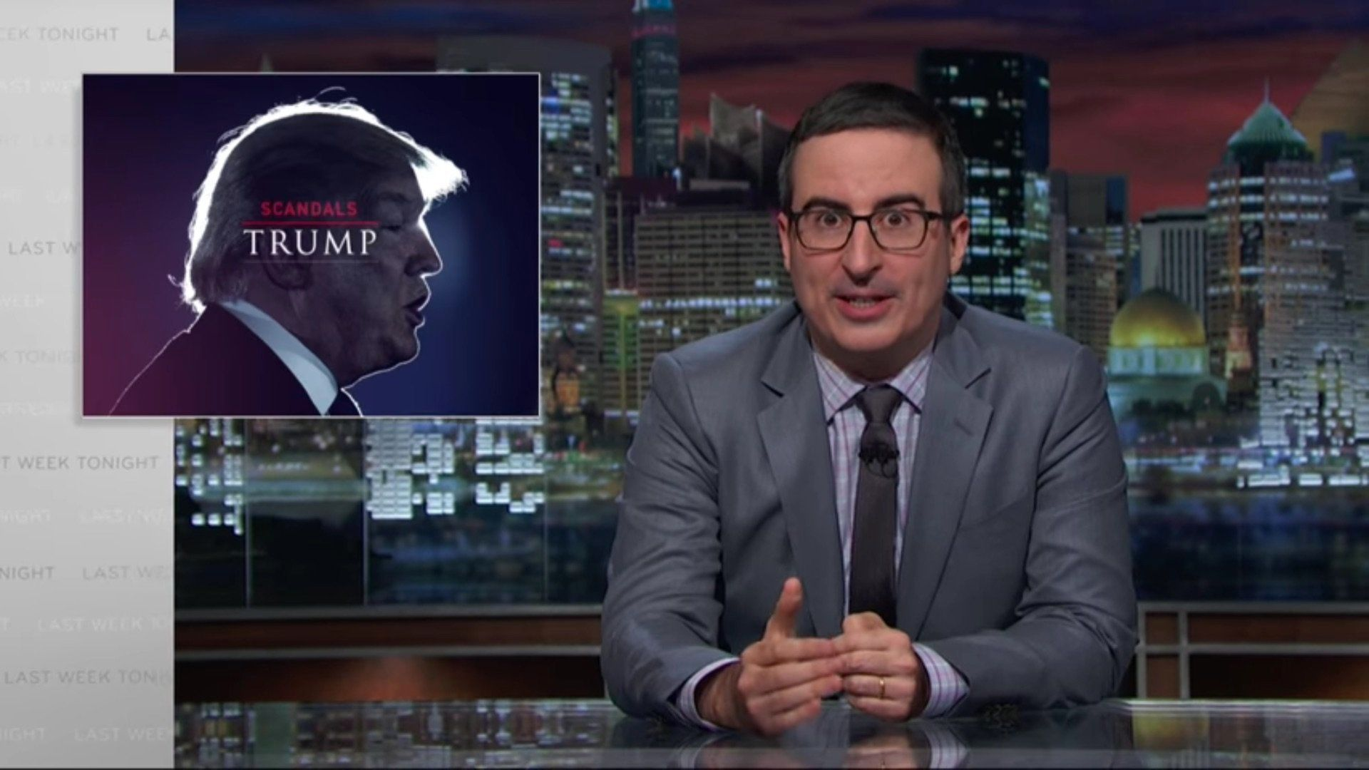 John Oliver Is Back, And He Wants You To Get 'F**king Outraged' Over Donald Trump's