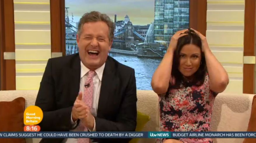 Susanna Tries (And Fails) To Keep The Peace As Piers Grills Lord