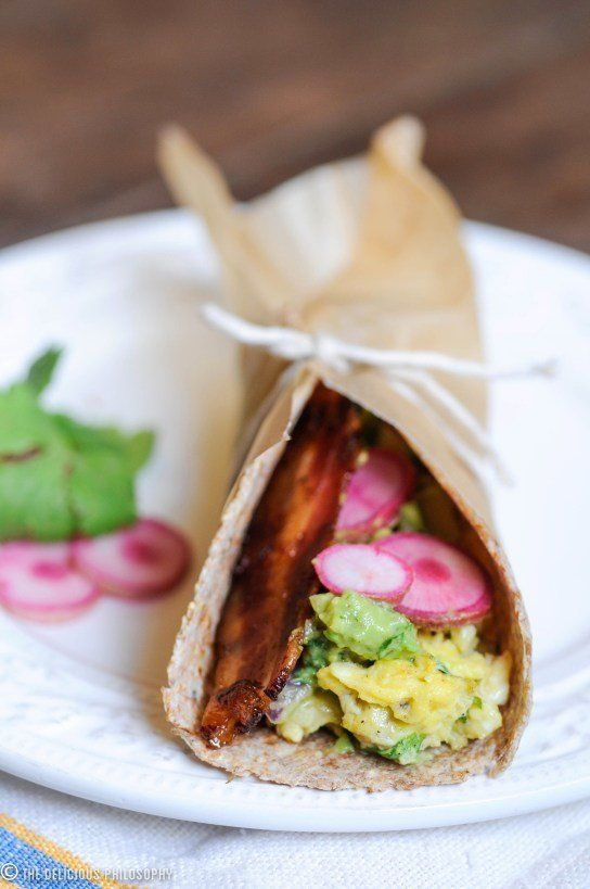 "<strong>Get <a href=""http://thedeliciousphilosophy.wordpress.com/2012/10/06/the-farmers-market-breakfast-taco/"" target=""_blan"