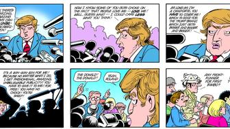 This Doonesbury cartoon originally appeared in 1999 but went viral last week