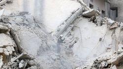 Dozens Of Airstrikes Hit Rebel-Held Aleppo In