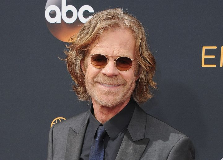 William H. Macy arrives at the 68th Annual Primetime Emmy Awards at Microsoft Theater on Sept. 18, 2016, in Los Angeles.