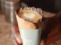Coffee In A Cone Is About To Be The Next Big Food Craze
