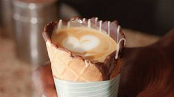 Coffee In A Cone Is About To Be The Next Big Food