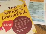 One UK Nando's Has A Breakfast Menu And Twitter Can't Handle It