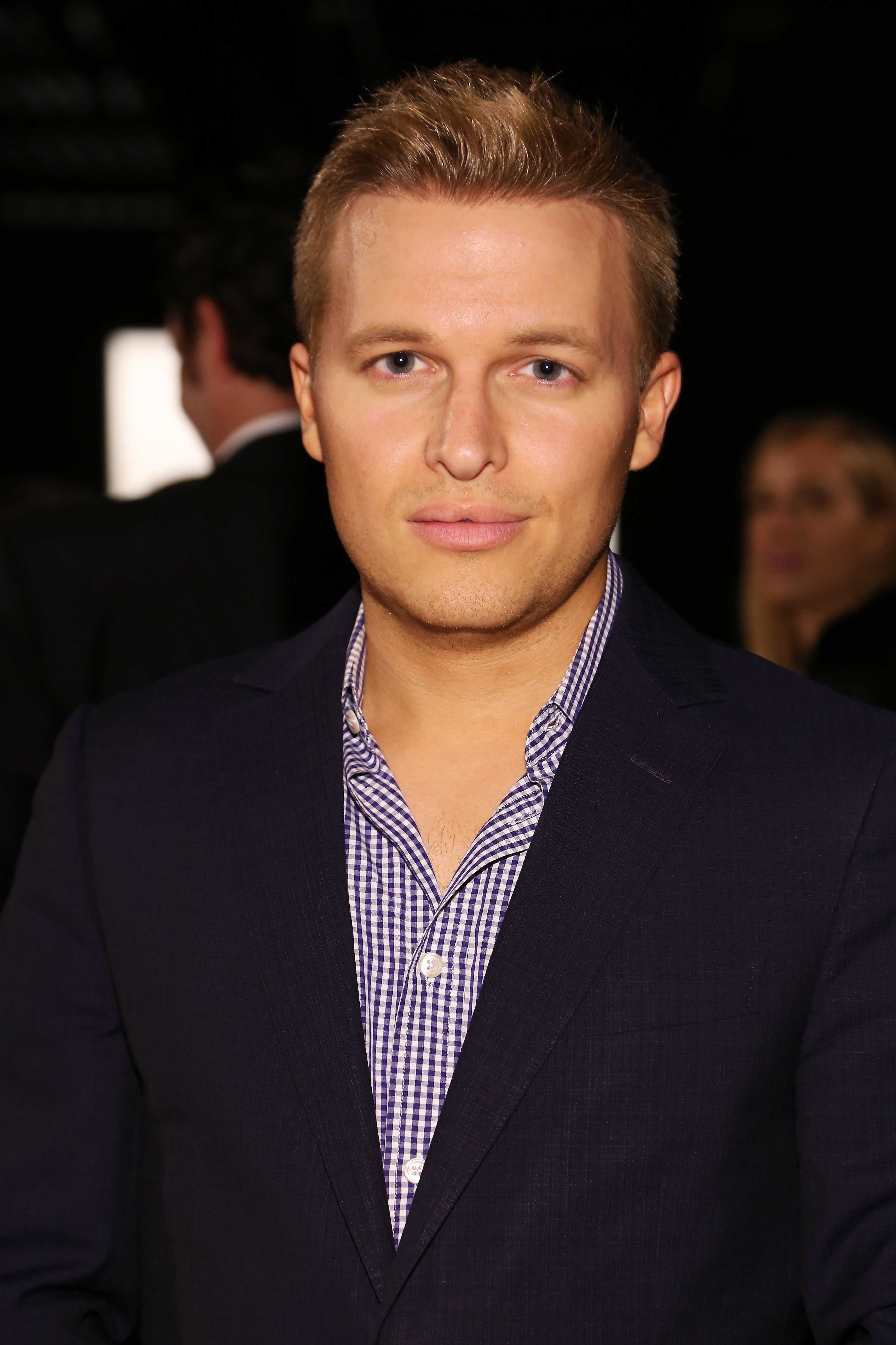 NEW YORK, NY - SEPTEMBER 11:  Activist Ronan Farrow attends the Zang Toi fashion show during Spring 2016 New York Fashion Week: The Shows at The Dock, Skylight at Moynihan Station on September 11, 2015 in New York City.  (Photo by Monica Schipper/Getty Images for NYFW: The Shows)