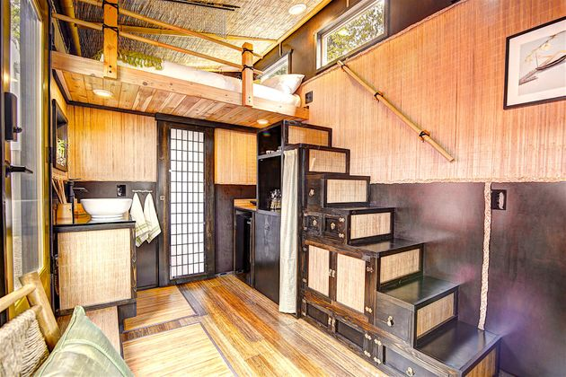 This Tiny House Hotel Is Complete And Teensy