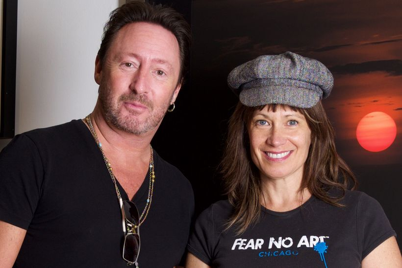 Julian Lennon And His Newest Love Photography