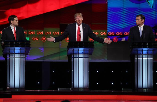 Donald Trump got through the GOP primary debates by insulting his opponents on stage and ducking from...
