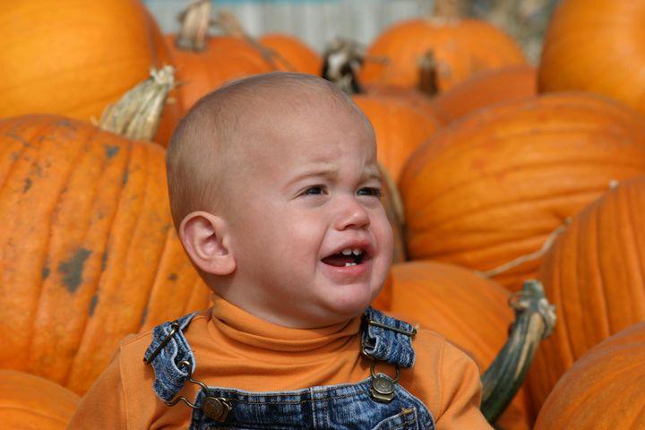 Pumpkin, pumpkin, baby, pumpkin.
