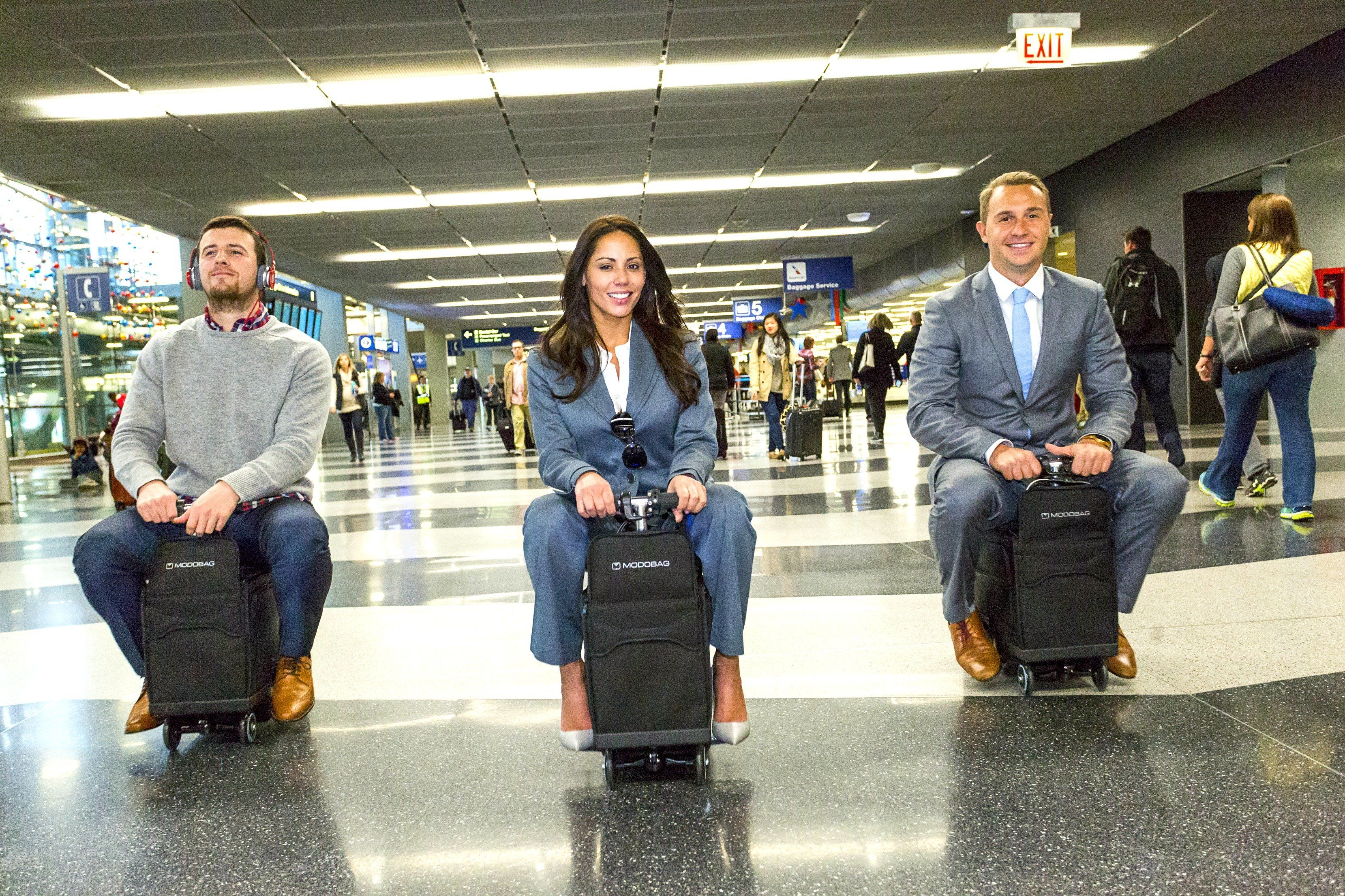 This Rideable Suitcase Has Got To Be The Greatest Airport