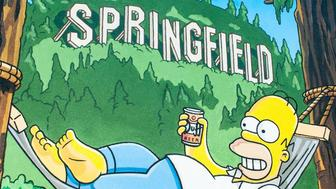 THE SIMPSONS: The city of Springfield, OR celebrates THE SIMPSONS 25th ANNIVERSARY with the unveiling of the Simpsons mural during a block party dedication ceremony on the downtown walk of murals on Monday, Aug. 25th, 2014. (Photo by FOX via Getty Images)