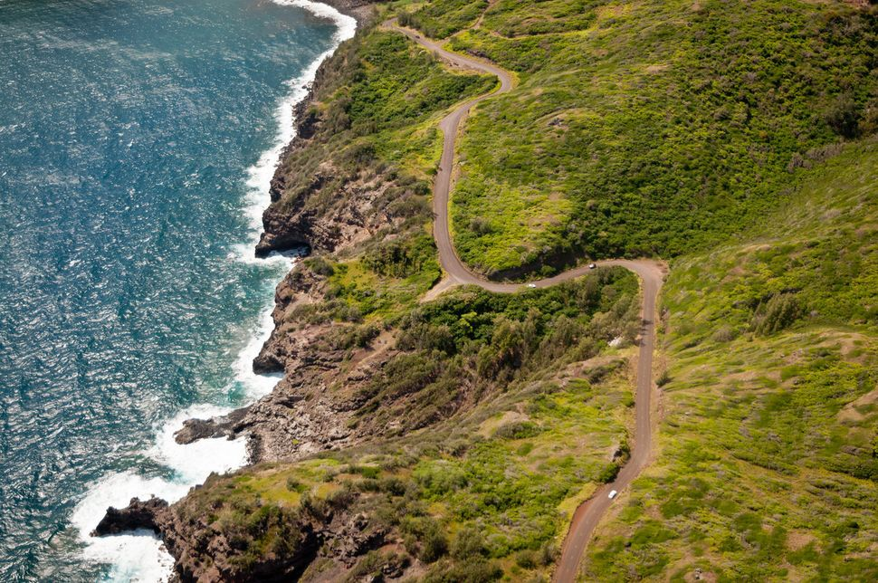 "The Kahekili Highway winds along Maui's stunning North Shore. It's a narrow, twisting and <a href=""http://www.ottsworld."